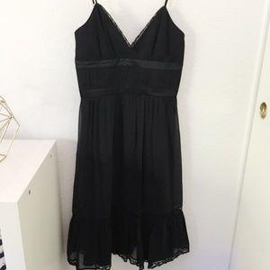 BCBG Black Silk Dress - Little Black Dress